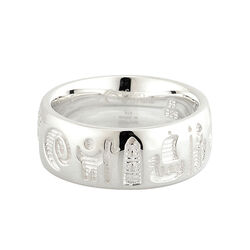 Solvar  S/S History Of Ireland Ring