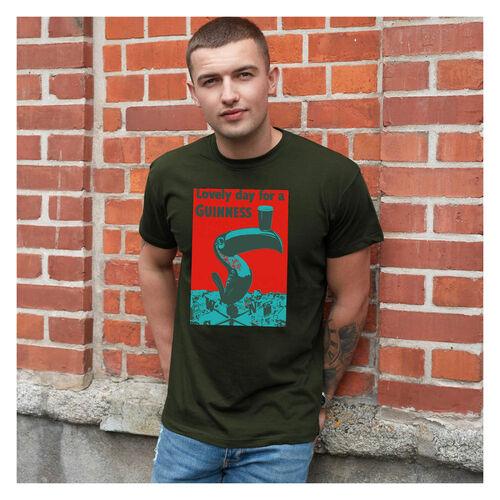 Guinness  Midnight Green Toucan Colour T-Shirt