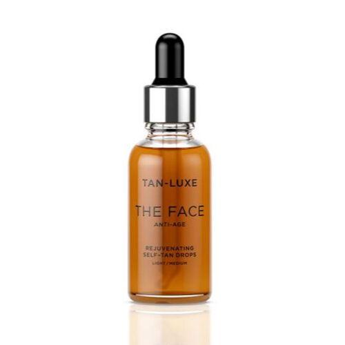 Tan Luxe The Face Anti Age  Light Medium 30ml