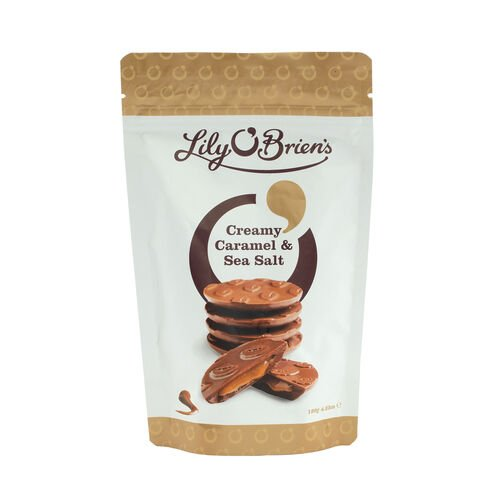 Lily O Briens Creamy Caramel with  Sea Salt Share Bag