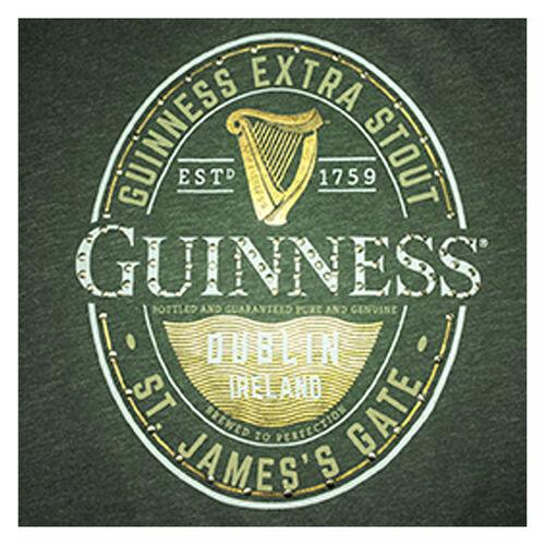 Guinness  Ladies Moss Green T-Shirt