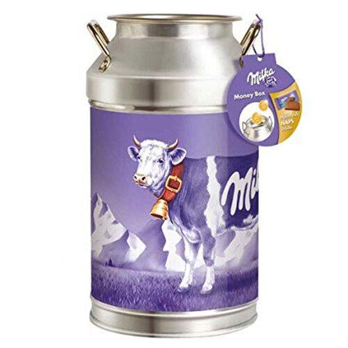 Milka Milk Chocolate  Money Box Can 150g