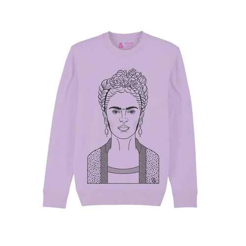 Jill & Gill Lavender Frida Sweater S