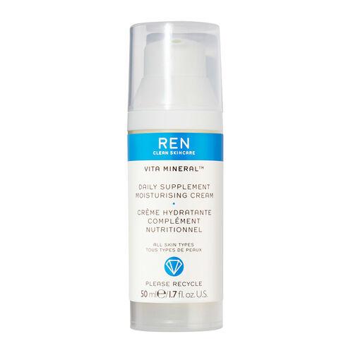 REN Skin Care Vita Mineral  Daily Supplement Moisturising Cream 50ml