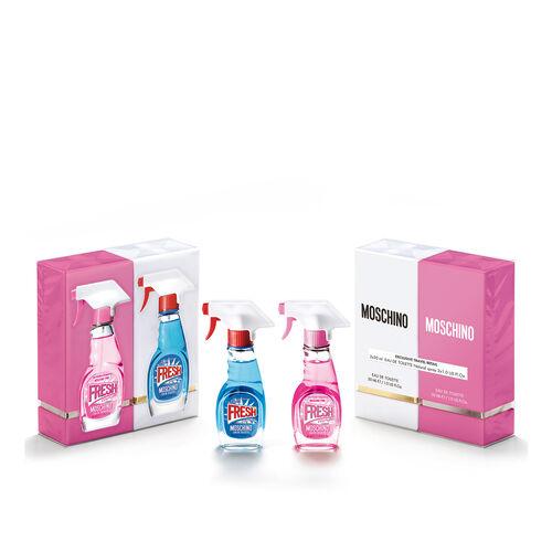 Moschino Fresh and Pink Fresh Couture Eau de Toilette 30ml Duo Set