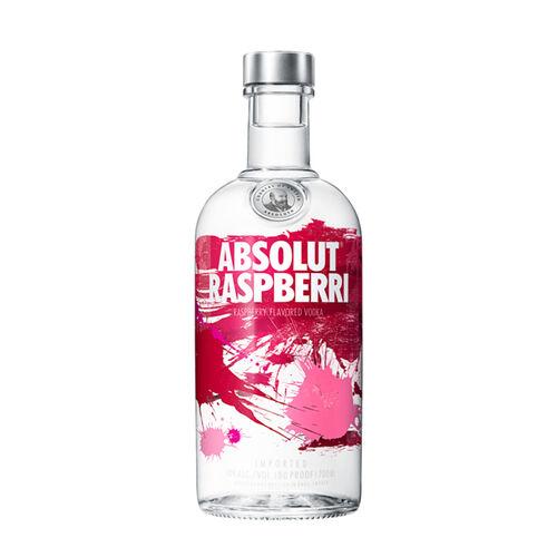Absolut Swedish Vodka  Raspberri 70cl Bottle