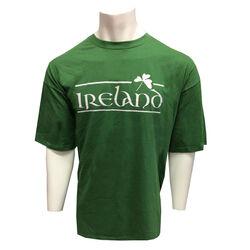Irish Memories Sage Shamrock T-Shirt