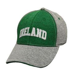 Lansdowne Adults Grey Green Performancebaseball Cap