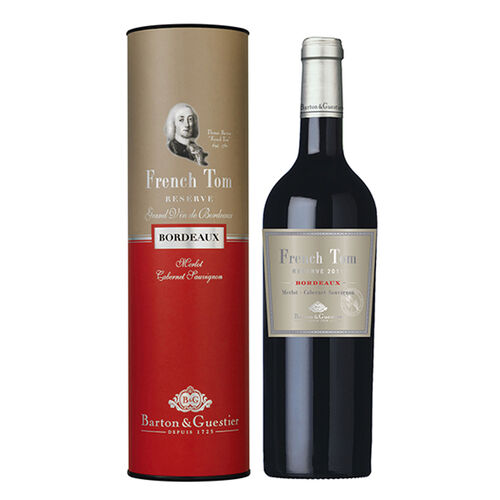 B&G French Tom Bordeaux Canister Red Wine 75cl