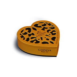Godiva Coeur Iconique  6 pieces 65g