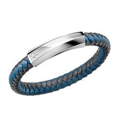Calvin Klein Anthracite and Blue Bracelet Ladies Klein