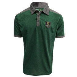 Guinness Guinness Green Black Performance Polo With Harp Crest