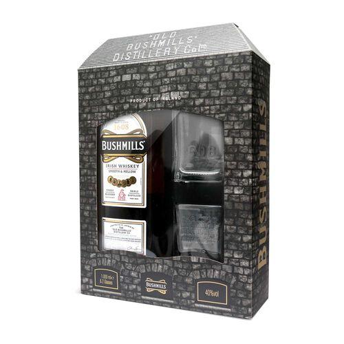 Bushmills Original Irish Whiskey  Glass Pack 1L