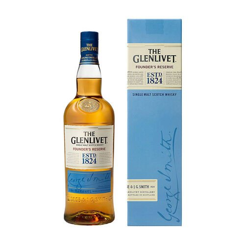 Glenlivet Single Malt Whisky  Scotland Founder's Reserve 70cl