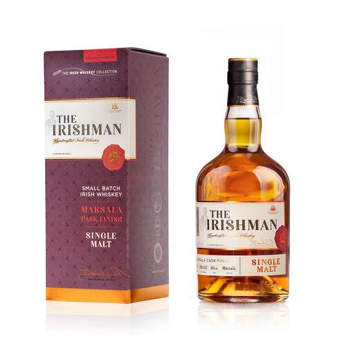 The Irishman Marsala Finish Single Malt Irish Whiskey 70cl