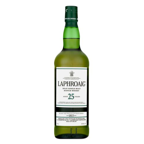 Laphroaig 25yr Single Malt  70cl
