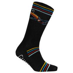 Guinness Guinness Black Stripe Flying Burgundy Toucan Sock