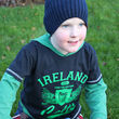 Traditional Craft Kids Navy Celtic Wings Kids T-Shirt  11/12