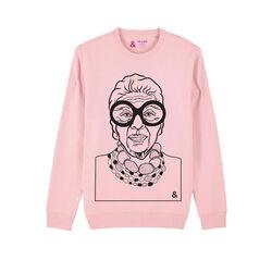 Jill & Gill Pink Iris Sweater S