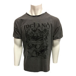 Irish Memories Black Acid Wash Premium T-Shirt