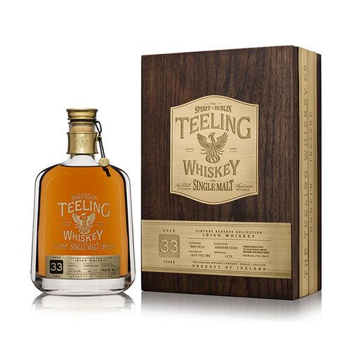 Teeling Whiskey Company 33 Year Old Single Malt Irish Whiskey  70cl