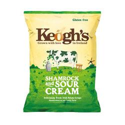 Keoghs Shamrock & Sour Cream Crisps