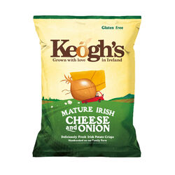 Keoghs Mature Irish Cheese & Onion Crisps