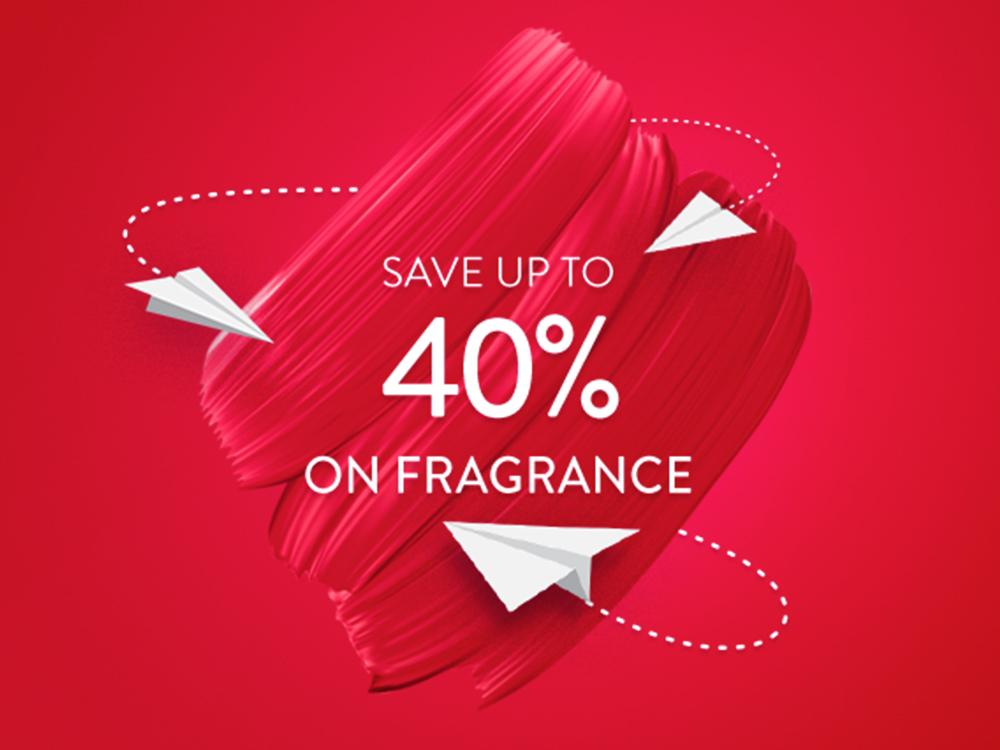 Save 40% on Fragrance
